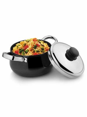 Kitchen chef KCFCSC180HA Hard Anodized Cook & Serve Casserole with LID 180 MM