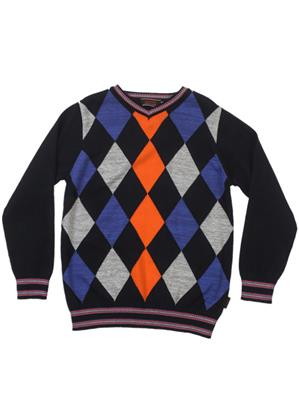 UK Kids WB47 Navy Boy Full Sleeves Pullover