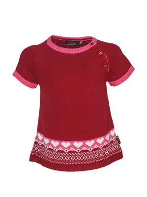UK Kids WBG305 Magenta Girl Half Sleeves Pullover