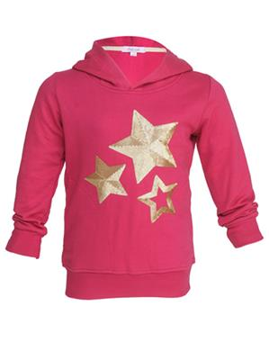 Colours GTW06 Pink Girls Sweatshirt