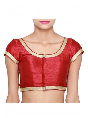 Isha Enterprise KFB-004 Maroon Women Blouse