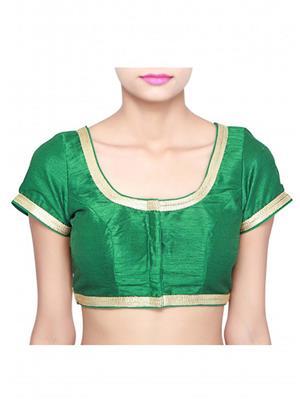 Isha Enterprise KFB-005 Green Women Blouse