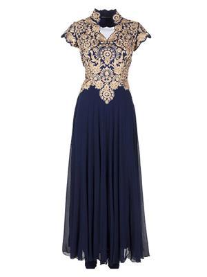 Isha Enterprise KFG01 Blue Women Gown