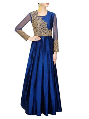 Isha Enterprise KFG02 Blue Women Gown