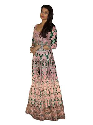 Isha Enterprise KFP-1115 Multicolored Women Gown