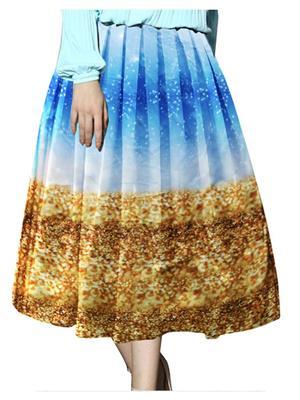 Isha Enterprise KFSKT-03 Multicolored Women Skirt