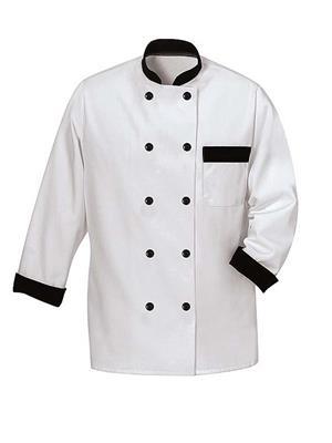 Imam KH-5 White Chefs Coat
