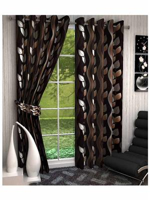 Click Weaves KI030 Multicolored Window Curtain