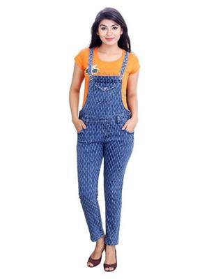 Indian Style Kis-115 Blue Women Jumpsuit