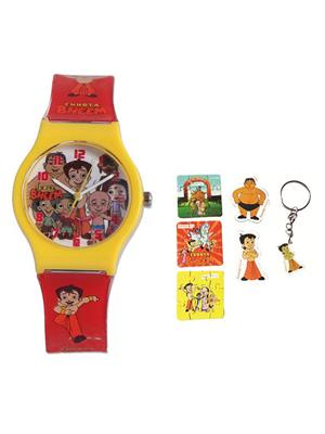 Fantasy World Kkfw-2001-Bl Multicolored Mighty Raju Kids Watch Combo Pack