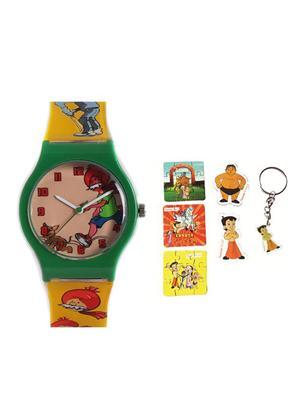Fantasy World Kkfw-5001-Bl Orange Babes Kids Watch Combo Pack