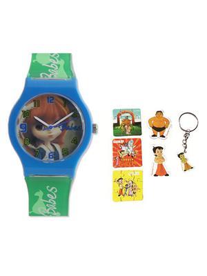Fantasy World Kkfw-5001-Pr Multicolored Babes Kids Watch Combo Pack