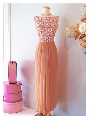 Kmozi Kmd001-002 Peach Women Gown