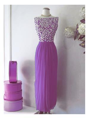 Kmozi Kmd001-004 Purple Women Gown