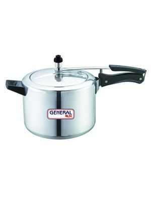 General Aux Koipcia Grey Pressure Cooker