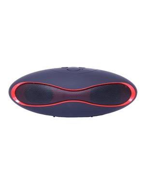 General Aux Koirugby Black Portable Rugby Shape Bluetooth Speaker