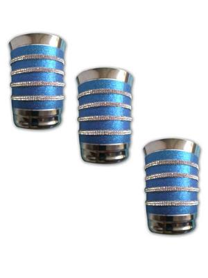 Kiaana KSG02 Stainless Steel Glass Set of 3
