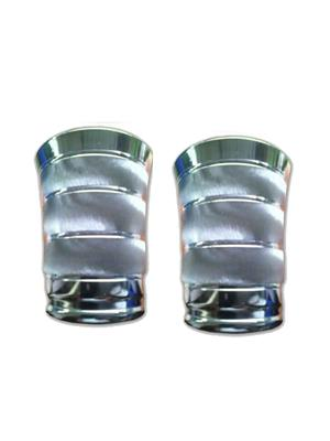 Kiaana KSG04 Stainless Steel Glass Set of 2