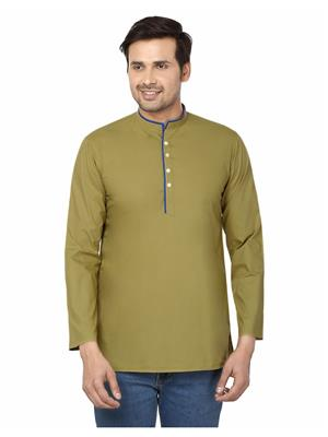 Qdesigns KT-139 Green Men Kurta