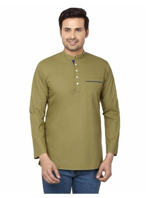 Qdesigns KT-153 Green Men Kurta