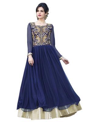 Kyrozz Kyzffsl28 Navy Blue Gown