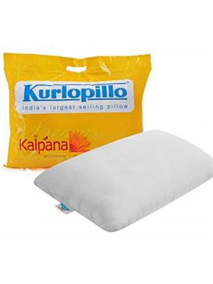 Kurl-On Kalpana White Plain Pillow