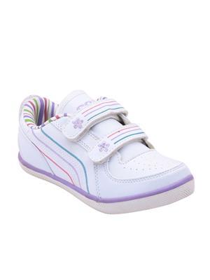 Escan Kids-ES430011 White Boys Sports Shoes