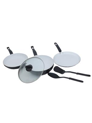 Kitchen Queen Cookware Set with FREE Spoon and Spatula