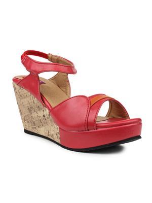 FIORELLA L-2069-RED Women Wedges