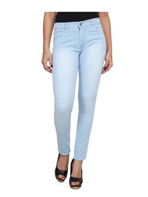 Ansh Fashion Wear LADIES-LBM Blue Women Jeans