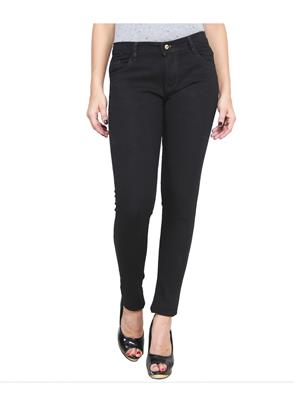 Ansh Fashion Wear LADIES-NEW-BLACK Blue Women Jeans