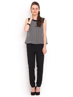 La Arista LAJS01 Black Women Jumpsuit