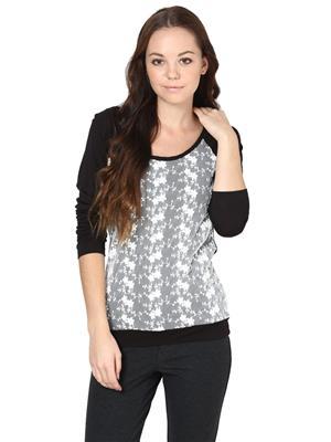 La Arista LATP005 Black Women T-Shirt