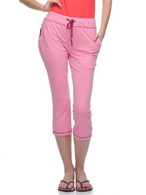 Clovia LB0018P22 Pink Women Short