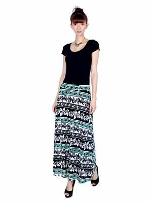 Lee Douche Ld123 Green Women Skirt