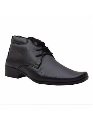Lexus Lex-43-Bk Black Men Formal Shoes