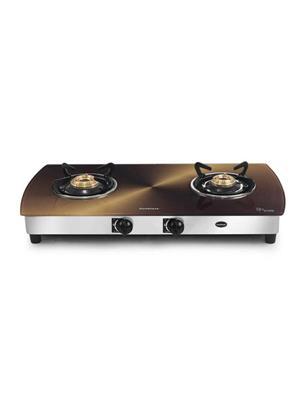 Sunblaze LE S211 Copper Double Burner CORAL CURVE Gas Stove