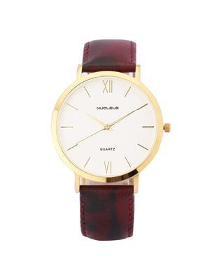 Nucleus LGWM Formal Leather Men Wrist Watch