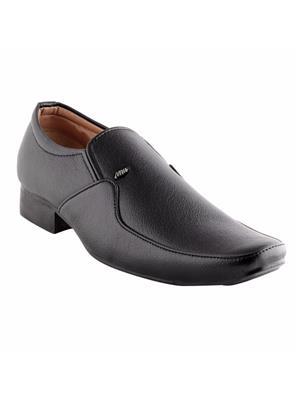 Look & Hook LHMM-1701BLK Black Men Formal Shoes
