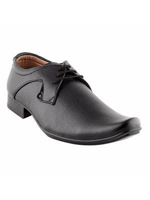 Look & Hook LHMM-2503BLK Black Men Formal Shoes