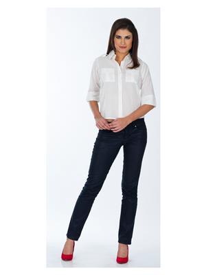 Lisova Li-Wht-Shrt White Women Shirt
