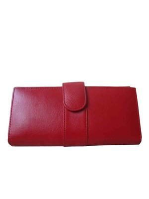 Lee Italian LI_LW004 Red  Women Wallet
