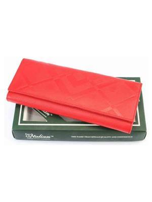 Lee Italian LI_LW20 Red Women Wallet