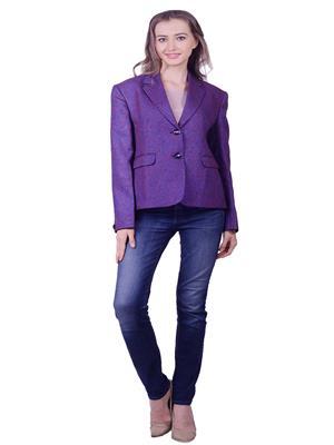 Lee Marc  Lmwbn4 Purple Women Blazer