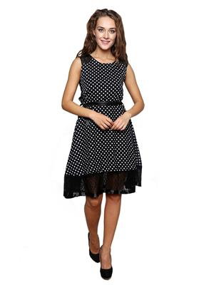 Lee Marc Lmwd102 Black Women Dress