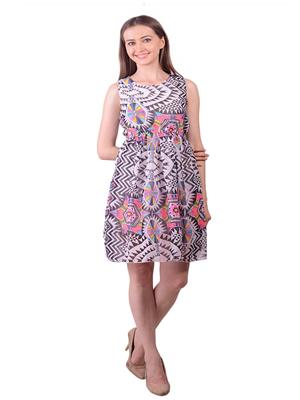 Lee Marc Lmwdn27 Multicoloured Women Dress