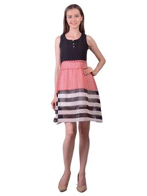 Lee Marc Lmwdn9 Multicoloured Women Dress