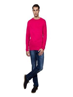 Lee Marc  Lm Formal Pink Men Sweater