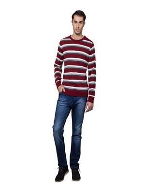 Lee Marc  Lm Formal Red Men Sweater
