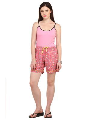 Lenora LN3012 Multicolored Women Short
